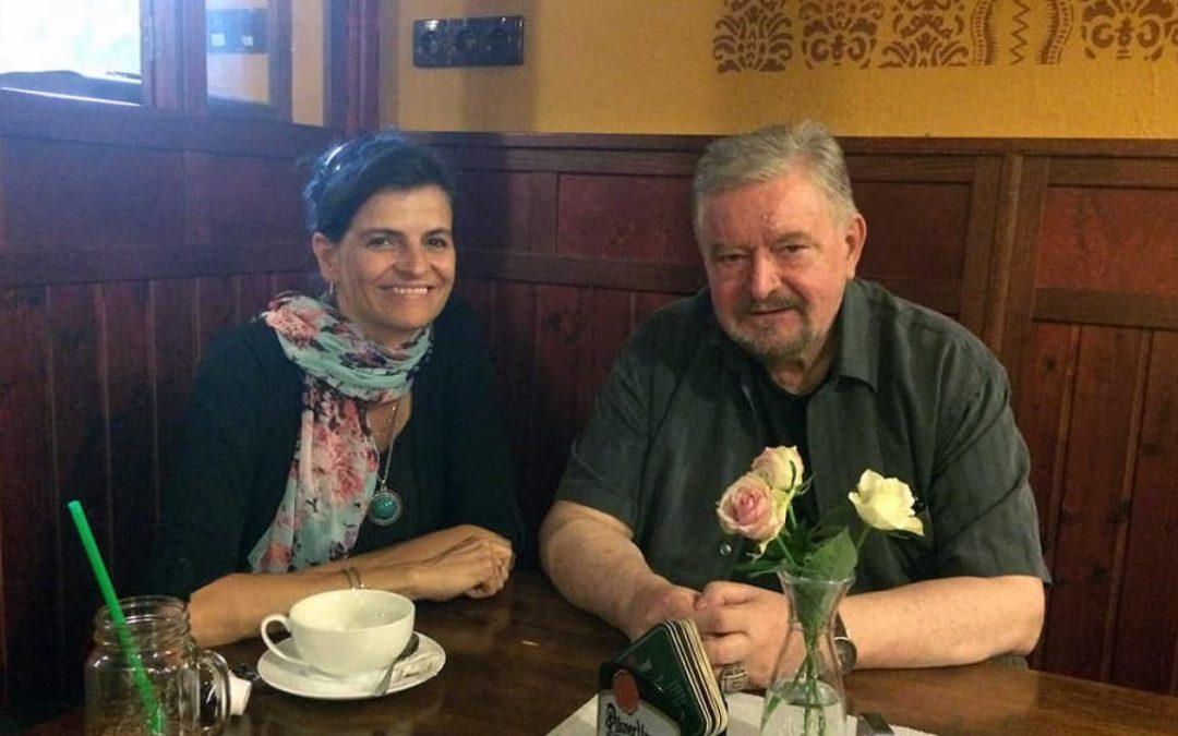 profesor Milan Zelený a Michaela Krausová