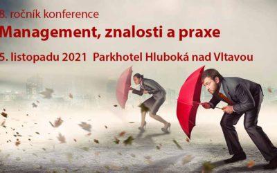 Nový termín konference Management, znalosti a praxe na Hluboké