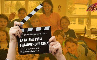 I letos natáčíme na Hluboké s našimi studenty filmy v angličtině